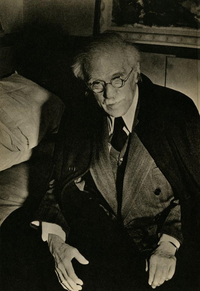 WEEGEE [arthur h. fellig] - Alfred Stieglitz, 1944 - Original vintage photogravure