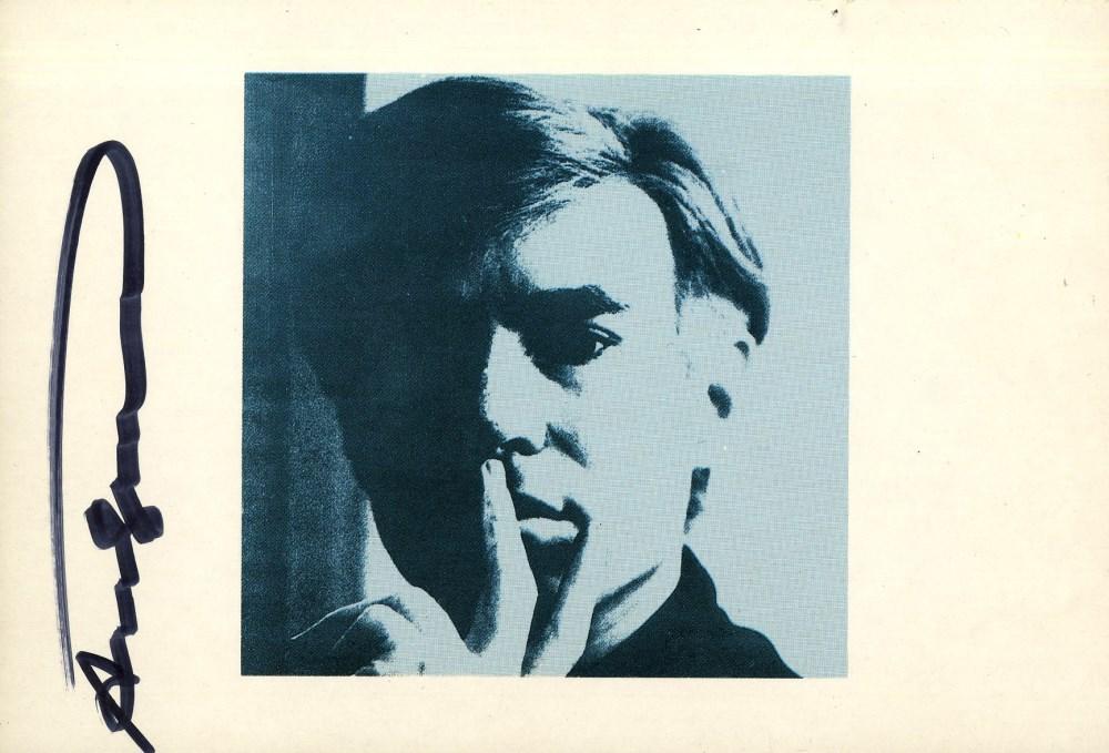 ANDY WARHOL - Self-Portrait - Color offset lithograph