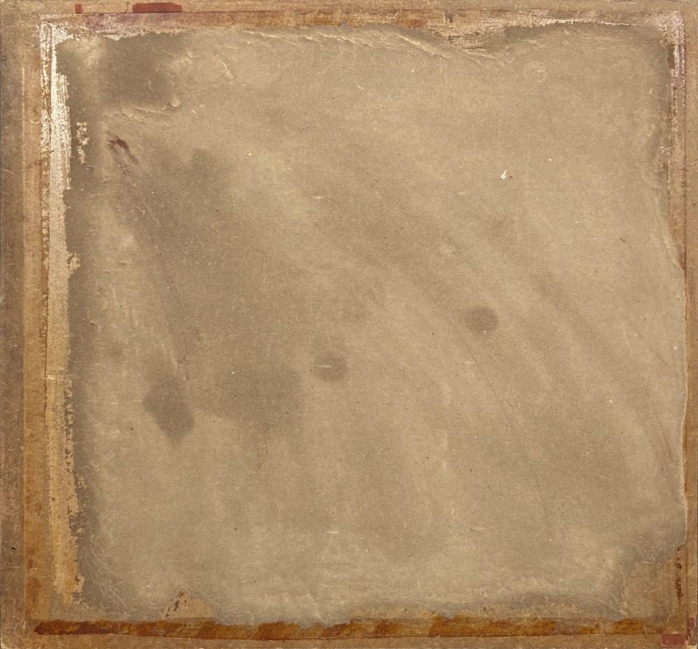 MARINO MARINI - Cavallo bianco e due uomini - Mixed media on hardboard - Image 3 of 3