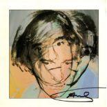 ANDY WARHOL - Self-Portrait - Original color offset lithograph