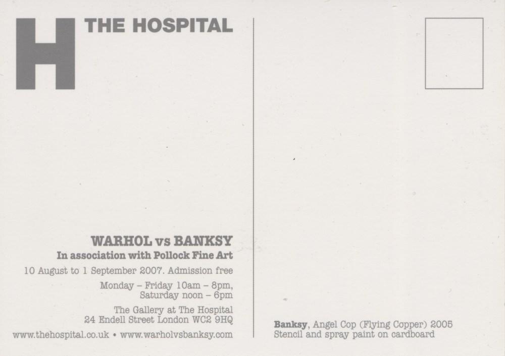 BANKSY - Flying Copper (Angel Cop) - Original color offset lithograph - Image 2 of 2