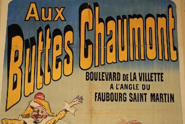 JULES CHERET - Aux Buttes Chaumont/Jouets - Original vintage color lithograph - Image 2 of 4