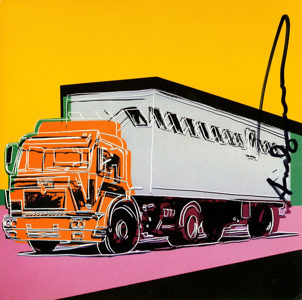 ANDY WARHOL - Trucks Suite - Color offset lithographs - Image 5 of 10