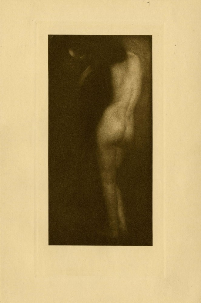 EDWARD STEICHEN - The Little Round Mirror - Original vintage photogravure