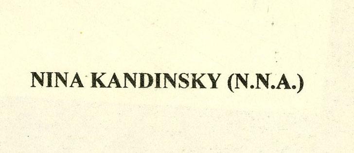 WASSILY KANDINSKY - Studie zu einem Bild - Original color collotype - Image 2 of 3