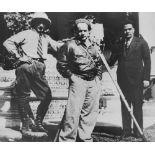 AGUSTIN JIMENEZ - El Director Cinematografico Sergei Eisenstein y E. Tisse - Gelatin silver print