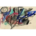 AFRO [afro basaldella] - Bicicletta - Mixed media on paper