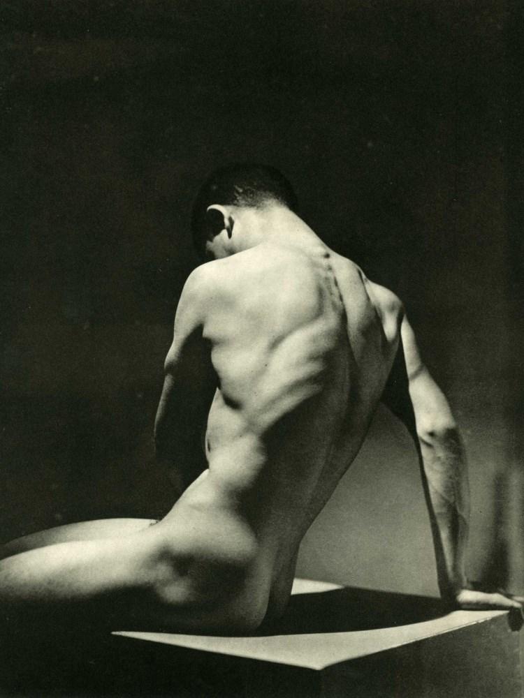 GEORGE HOYNINGEN-HUENE - Physique - Nude Male - Original vintage photogravure