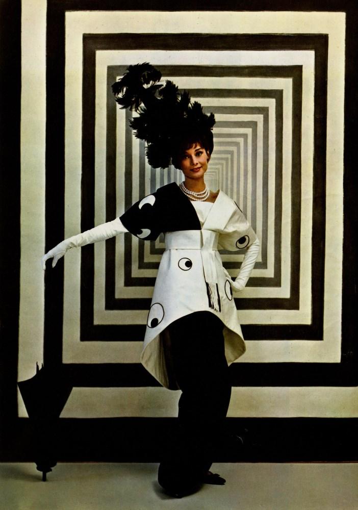 CECIL BEATON - Audrey Hepburn in 'My Fair Lady' #1 - Original vintage color photogravure