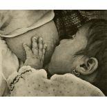 TINA MODOTTI - Indian Baby Nursing - Original vintage photogravure