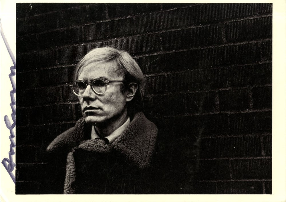 ANDY WARHOL - Portrait of Andy Warhol - Offset lithograph
