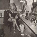 DIANE ARBUS - Burlesque Comedienne in Her Dressing Room, Atlantic City, N.J - Original vintage ph...