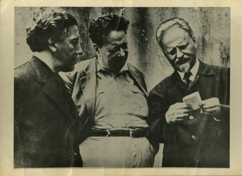 FRITZ BACH - Andre Breton, Diego Rivera, Leon Trotsky - Silver gelatin print