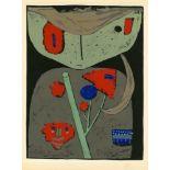 PAUL KLEE - Figur der orientalischen Bühne - Original color silkscreen