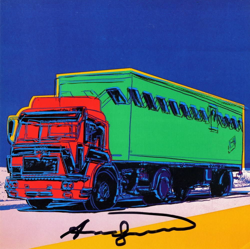 ANDY WARHOL - Trucks Suite - Color offset lithographs - Image 3 of 10