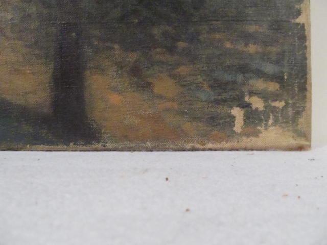 GEORGES PLASSE - Village au bord du fleuve - Oil on canvas - Image 6 of 8