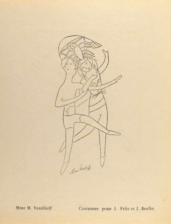 PABLO PICASSO - Bal Olympic: Vrai bal sportif costume (Programme) [Picasso *one original lithogra... - Image 6 of 10