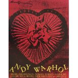 ANDY WARHOL - Candy Box Heart (Closed) - Color lithograph