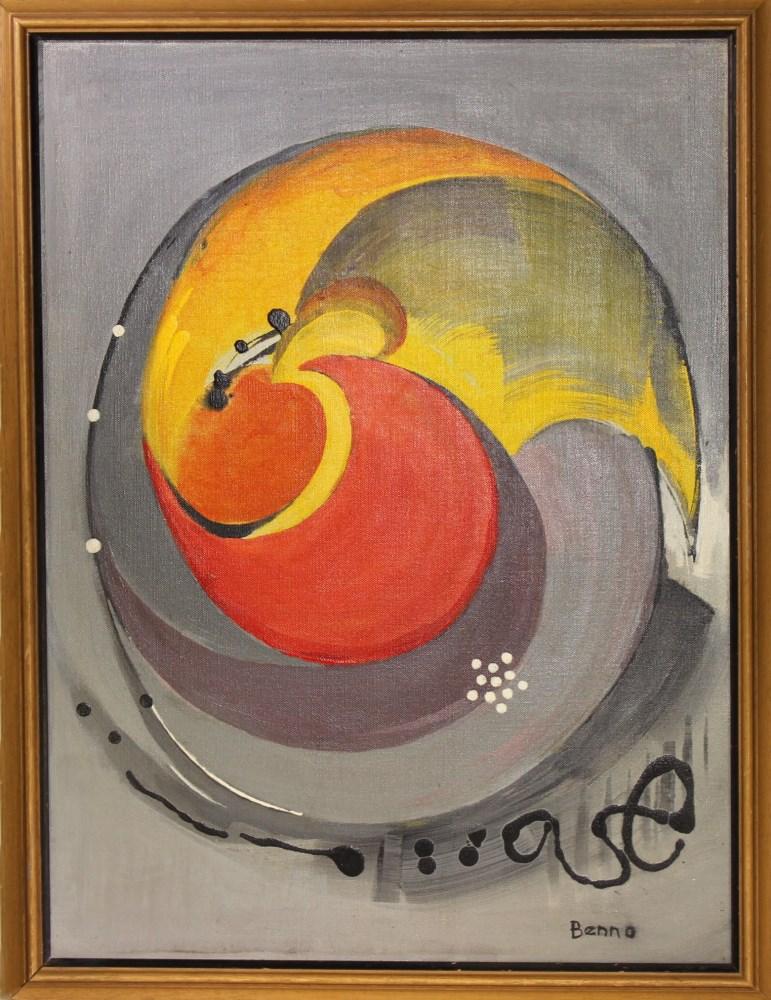 BENJAMIN GREENSTEIN BENNO - Complex Enzyme - Oil on canvas