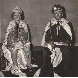 DIANE ARBUS - The King and Queen of a Senior Citizens Dance, N.Y.C - Original vintage photogravure