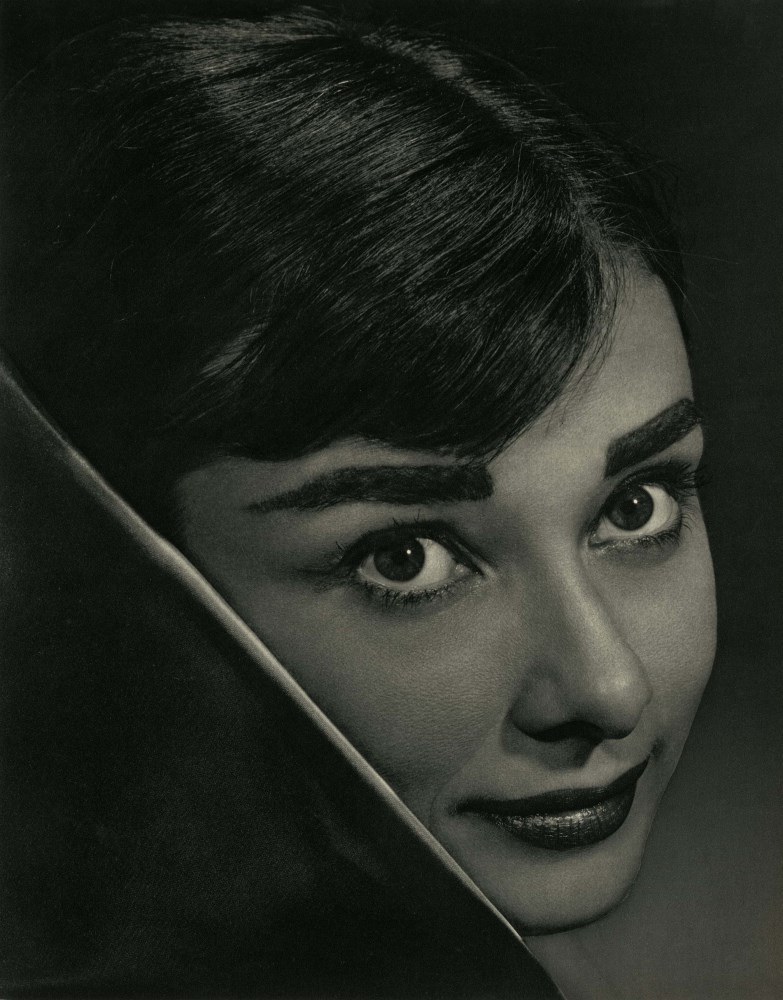 YOUSUF KARSH - Audrey Hepburn - Original vintage photogravure