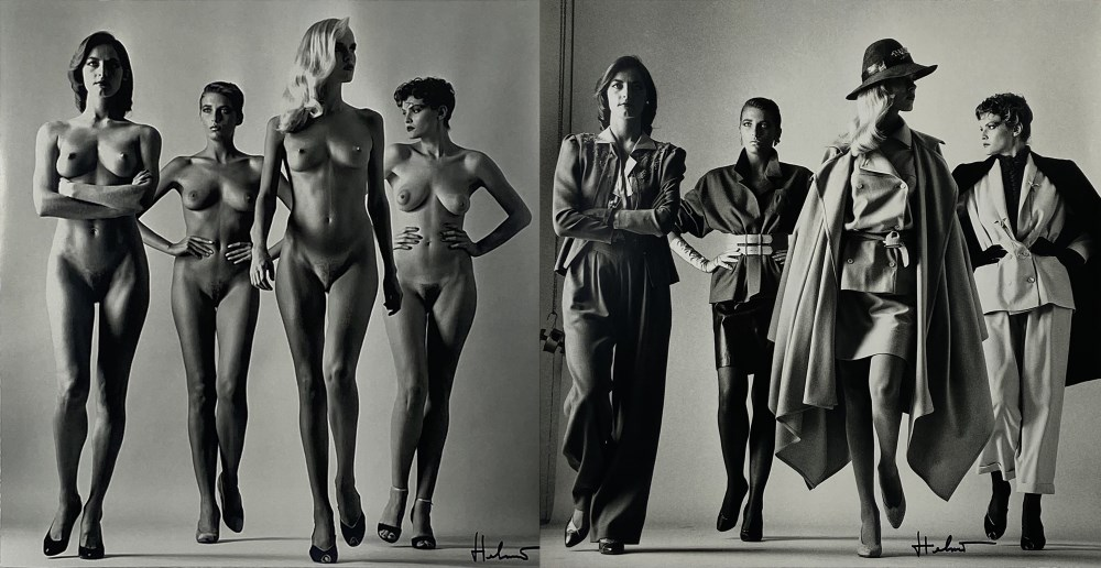 HELMUT NEWTON - Sie Kommen, Dressed/Sie Kommen, Naked - Original photolithographs - Image 3 of 3