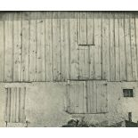 CHARLES SHEELER - Side of White Barn - Original vintage photogravure