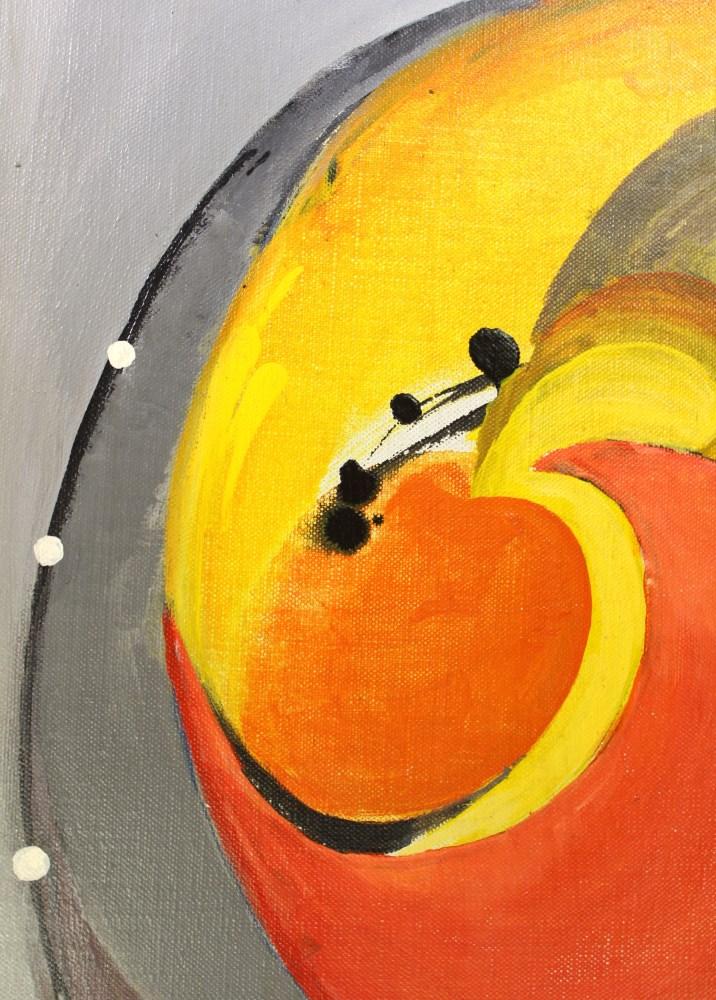 BENJAMIN GREENSTEIN BENNO - Complex Enzyme - Oil on canvas - Image 7 of 7