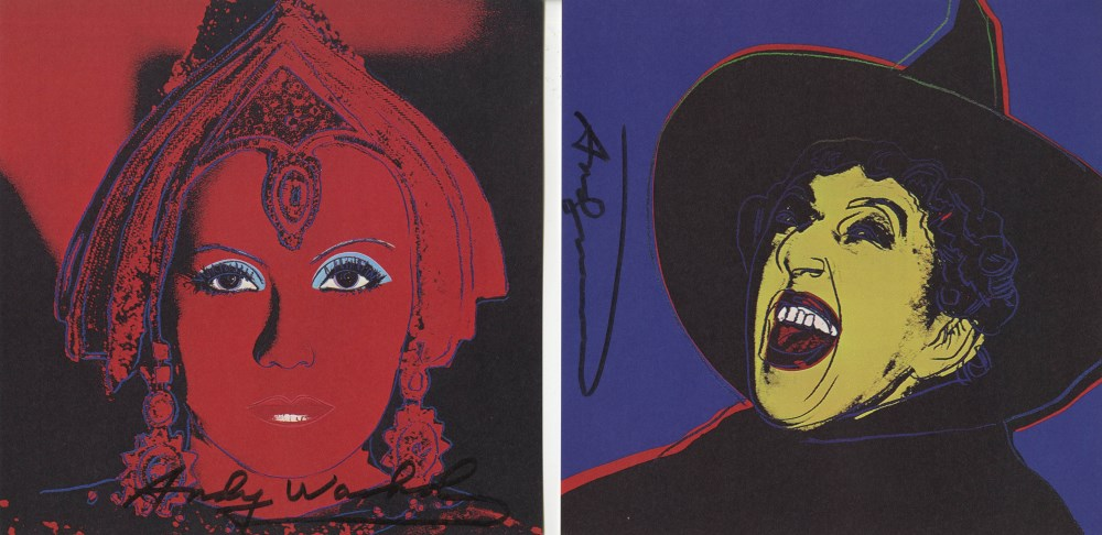 ANDY WARHOL - Myths Suite - Color offset lithographs - Image 6 of 10