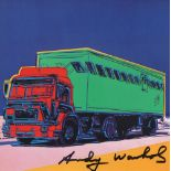 ANDY WARHOL - Truck #1 - Color offset lithograph