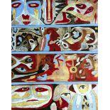 KARIMA MUYAES - Mosaico IV - Oil on canvas