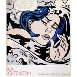ROY LICHTENSTEIN - Drowning Girl - Color offset lithograph