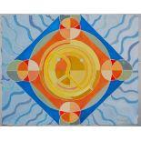 KARIMA MUYAES - Energy Mandala - Gouache on paper