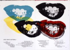 ANDY WARHOL - Marilyn Monroe I Love Your Kiss Forever Forever - Color lithograph