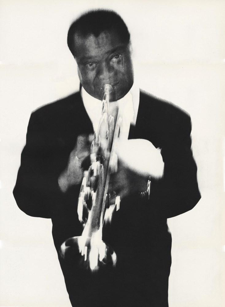 RICHARD AVEDON - Louis Armstrong, Musician, Newport Jazz Festival, Newport, Rhode Island, May 3, ...