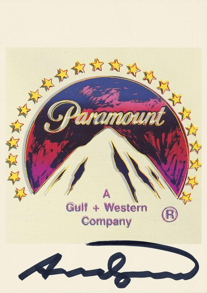 ANDY WARHOL - Paramount - Color offset lithograph