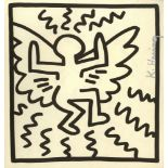 KEITH HARING - Angel - Lithograph