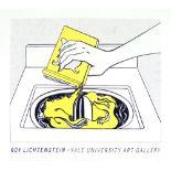 ROY LICHTENSTEIN - Washing Machine - Original color silkscreen
