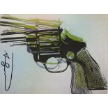 ANDY WARHOL - Guns #07 - Color offset lithograph