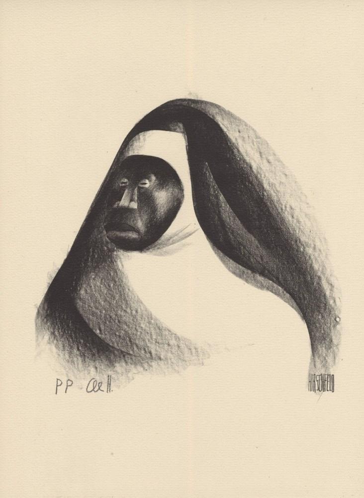 AL HIRSCHFELD - Ebony Sister - Original lithograph