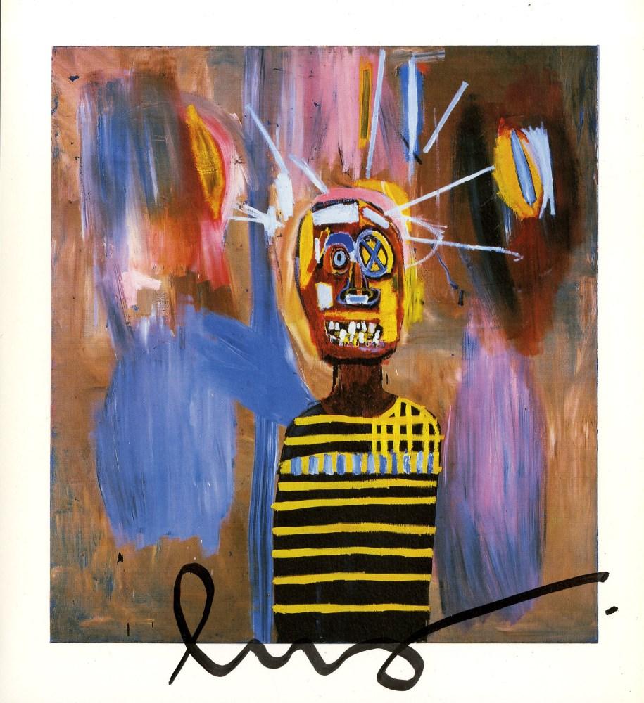 JEAN-MICHEL BASQUIAT - Freddie - Color offset lithograph