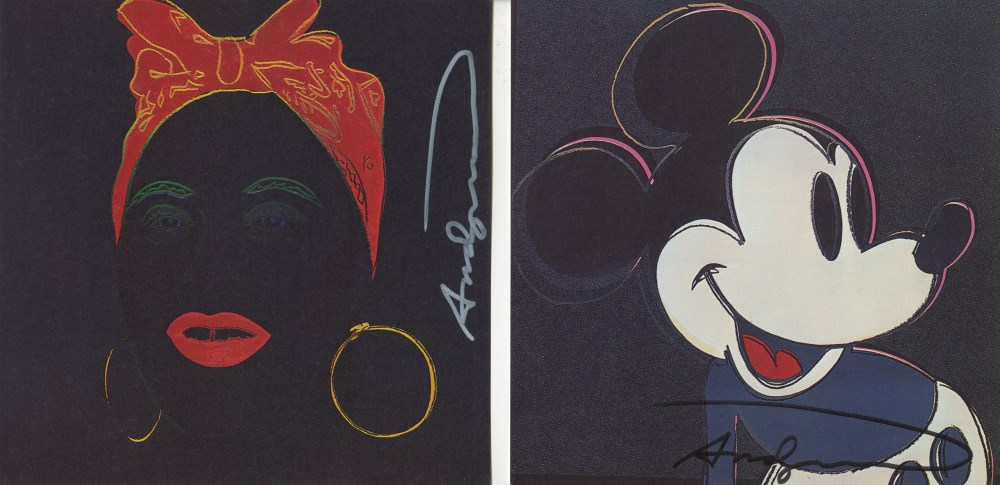 ANDY WARHOL - Myths Suite - Color offset lithographs - Image 4 of 10