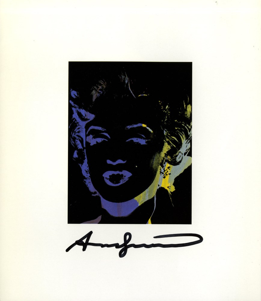ANDY WARHOL - One Multicolored Marilyn #5 - Color offset lithograph