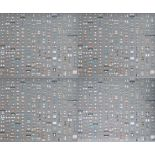 DAMIEN HIRST - Pharmacy Panel (Silver) (2004) (4 panel) - Color silkscreen and offset lithograph