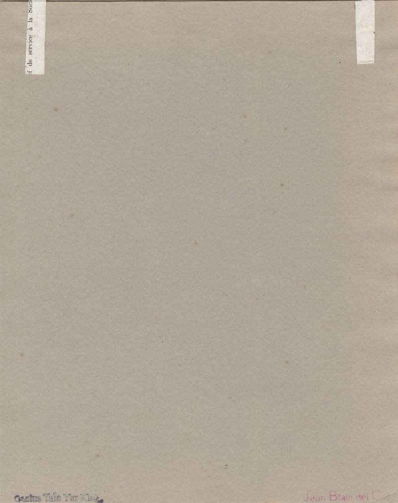 TAMARA DE LEMPICKA - Portrait d'une jeune femme nue - Pencil drawing on paper - Image 2 of 2