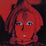 ANDY WARHOL - The Star (Greta Garbo as Mata Hari) - Color offset lithograph