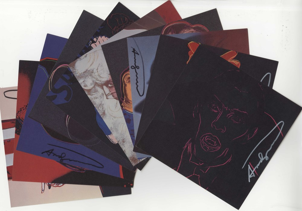 ANDY WARHOL - Myths Suite - Color offset lithographs