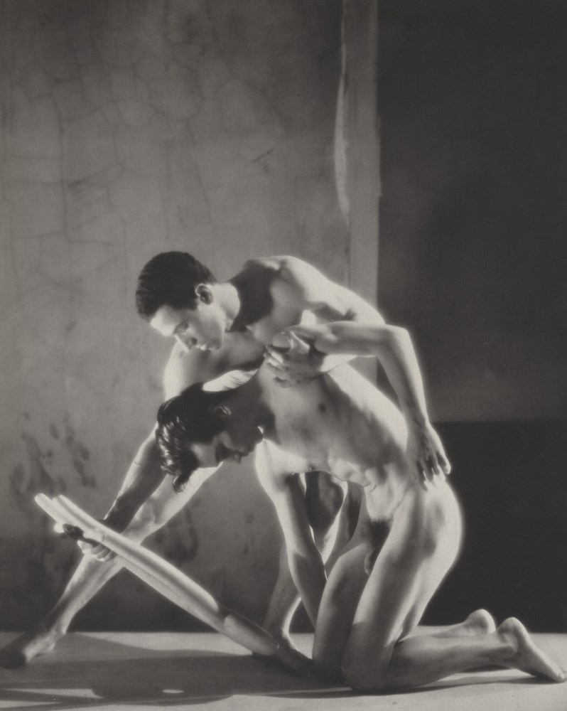 GEORGE PLATT LYNES - Orpheus: Francisco Moncion and Nicholas Magallanes, Ballet Society - Origina...