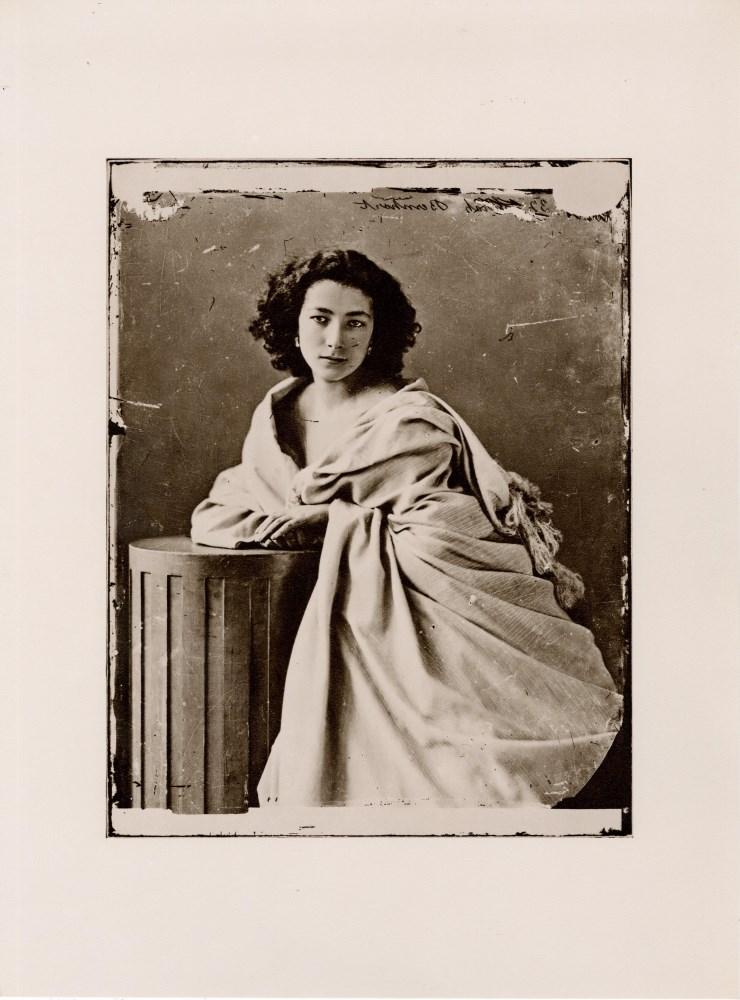 FELIX NADAR - Sarah Bernhardt - Original photogravure