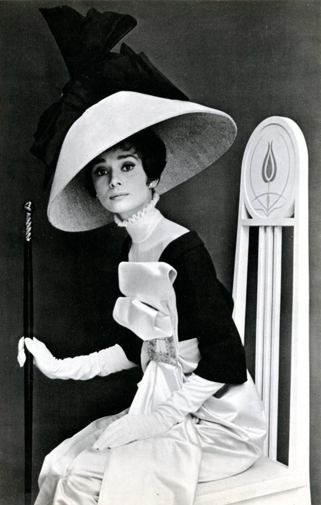 CECIL BEATON - Audrey Hepburn in 'My Fair Lady' #2 - Original vintage photogravure